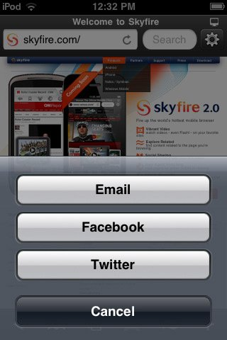 Skyfire Web Browser 2