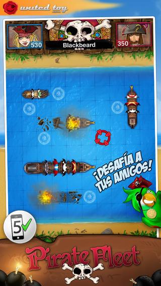 Battle by Ships ~ PirateFleet+ 4 Friends2