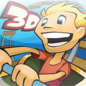 3D Rollercoaster Rush logo