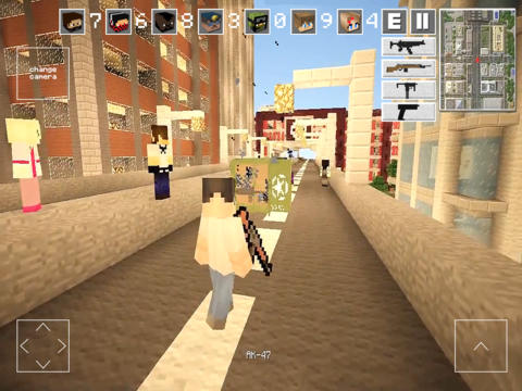 Block Clans – 3D Pixel Survival FPS & TPS Gun Shooter