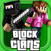 Block Clans – 3D Pixel Survival FPS & TPS Gun Shooter logo
