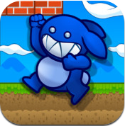 Blue Rabbit's Worlds logo