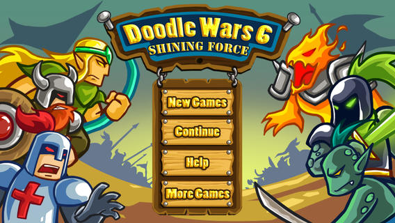 Doodle Wars 6: Shining Force