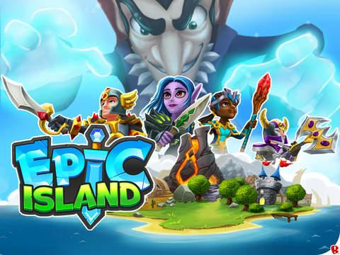 Epic Island скриншот игры