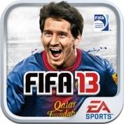 FIFA SOCCER 13 by EA SPORTS logo