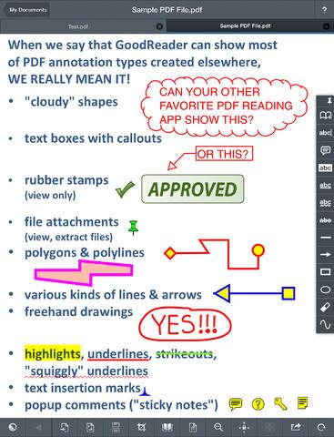 GoodReader for iPad 2