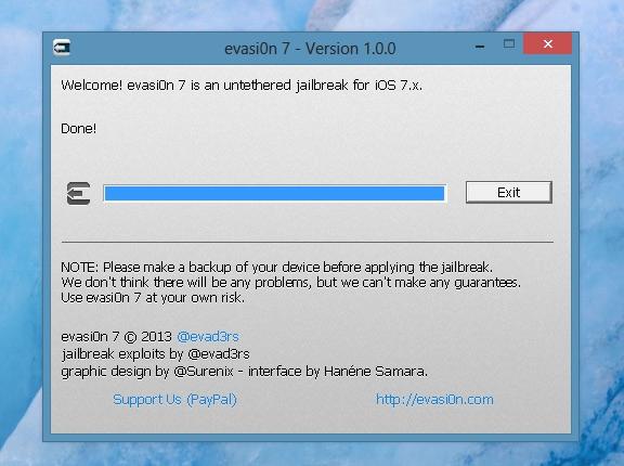 Джейлбрейк iOS 7 5