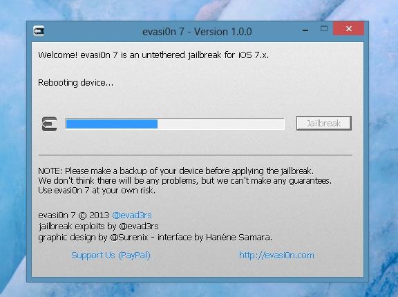 Джейлбрейк iOS 7 2