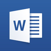 Microsoft Word for iPad logo