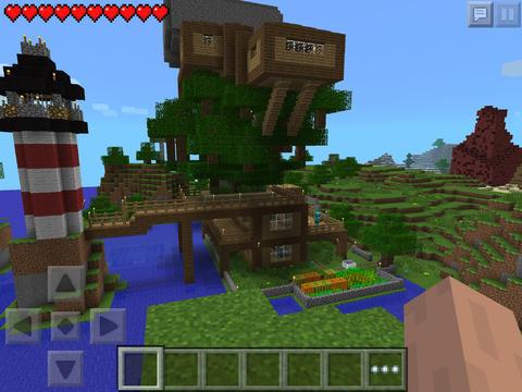 Скриншот игры Майнкрафт