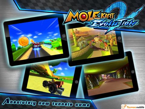 Mole Kart 2 Evolution 2