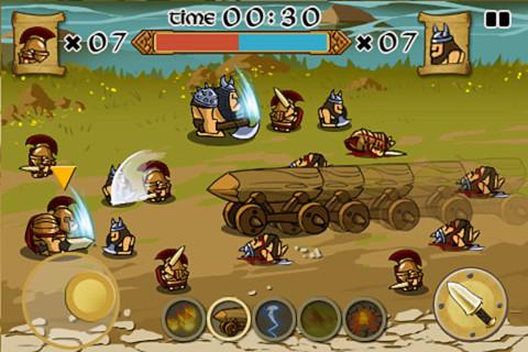 Spartans vs Vikings 1
