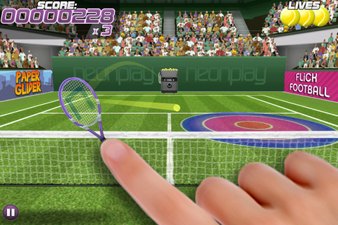 Pro Tennis Volley 1