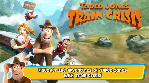 Tadeo Jones: Train Crisis Pro 1