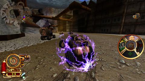 Steampunk Racing 3D 1