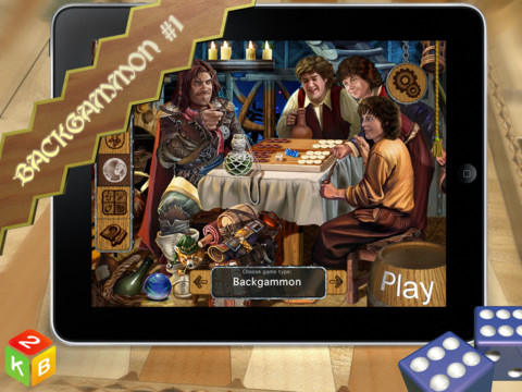 Backgammon Masters HD 1