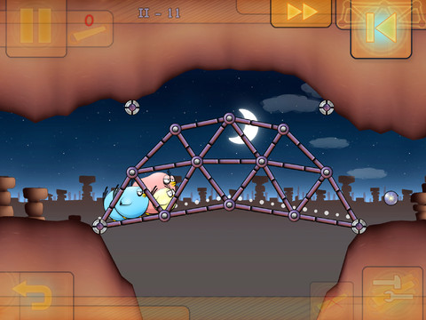 Fat Birds Build a Bridge! 1