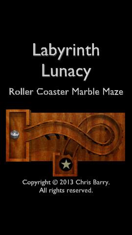 Labyrinth Lunacy Roller Coaster Marble Maze 1