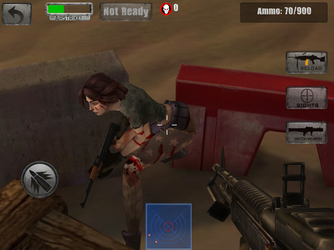 Zombie Jeep Gunner 1