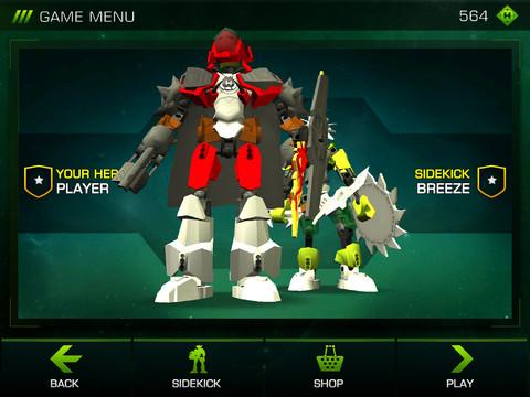 LEGO® Hero Factory Brain Attack 1