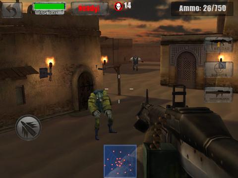 Zombie Jeep Gunner 2