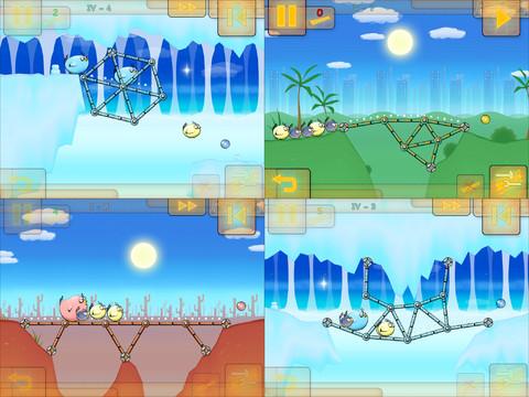 Fat Birds Build a Bridge! 2