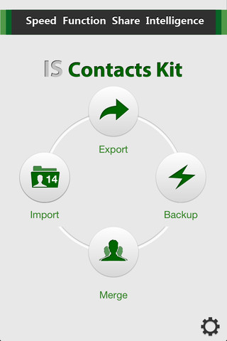 Contacts Backup – IS Contacts Kit