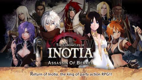 Inotia 4 PLUS: Assassin of Berkel