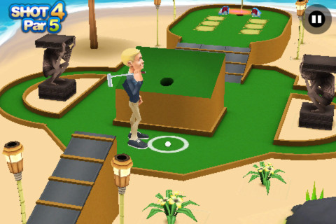 3D Mini Golf Challenge 1