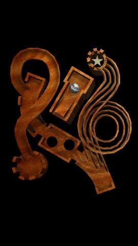Labyrinth Lunacy Roller Coaster Marble Maze 3