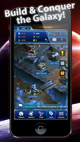 Galaxy Empire: Moon Base 1