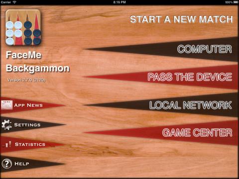 FaceMe Backgammon 1