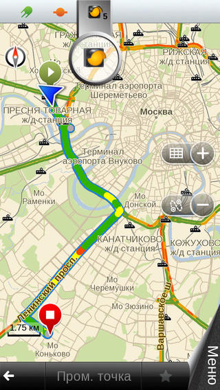 Shturmann gps-navigation and maps. Moscow.3