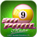 3D Pool Master logo