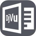 DjVu Book Reader logo