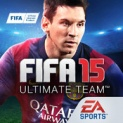 FIFA 15 Ultimate Team by EA SPORTS logo