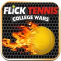 Flick Tennis: College Wars logo