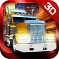 Trucker 3D Real Parking Simulator Game logo