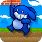 Blue Rabbit's Worlds logo