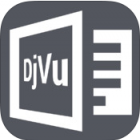 DjVu Book Reader logo