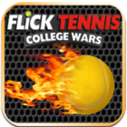 Flick Tennis: College Wars logo