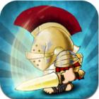 Spartans vs Vikings logo