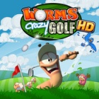 Worms Crazy Golf logo