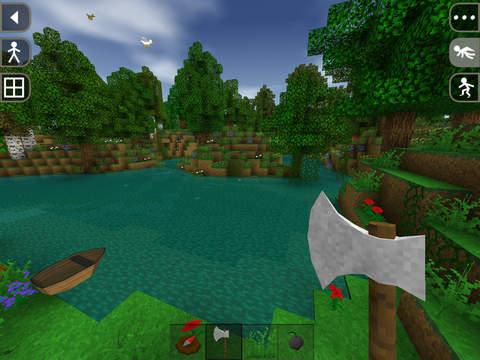 Survivalcraft скриншот