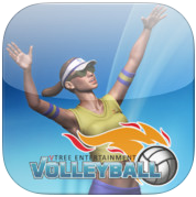 VTree Entertainment Volleyball logo