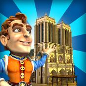 Monument Builders Notre Dame de Paris HD logo
