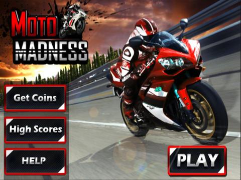 Moto Madness – 3d Motor Bike Stunt Racing Game