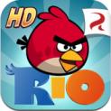Angry Birds Rio HD logo