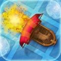 Battle by Ships ~ PirateFleet+ 4 Friends logo