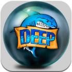 The Deep Pinball logo